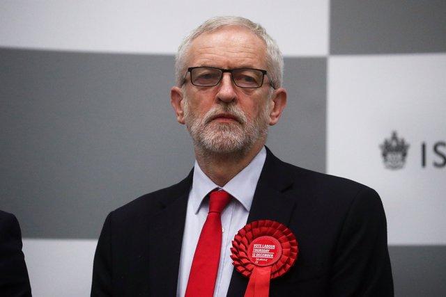El líder del Partido Laborista, Jeremy Corbyn