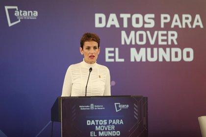 """Chivite aboga por una transformación digital que """"contribuya a la cohesión social y territorial de Navarra"""""""