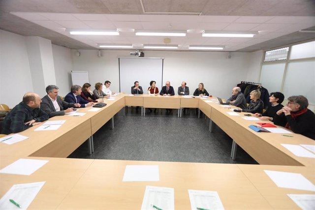 Reunión de la constitución del Consejo Navarro de Formación Profesional