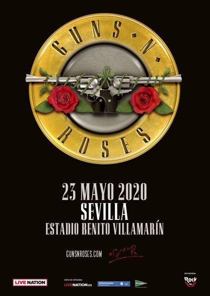 Guns n' Roses en Sevilla: Información y precios de entradas