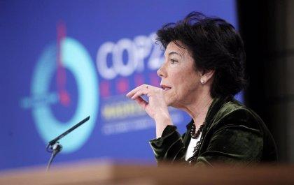 """El Gobierno aplaude el """"clamor general"""" conseguido por los jóvenes en la COP25, """"con Greta a la cabeza"""""""
