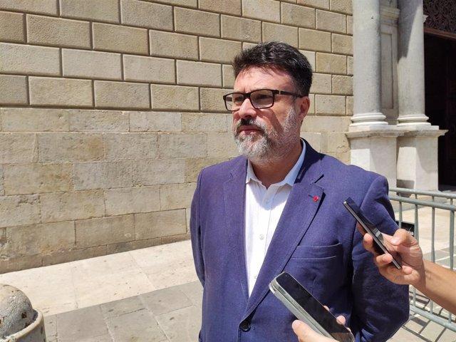 El diputat de Sobiranistes al Congrés Joan Josep Nuet