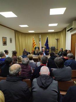 Reunión en el Ayuntamiento de Pacs el miércoles