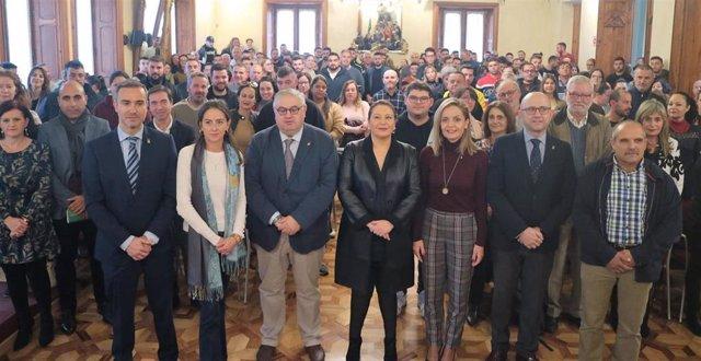 Carme Crespo entrega ayudas a jóvenes agricultores de Almería