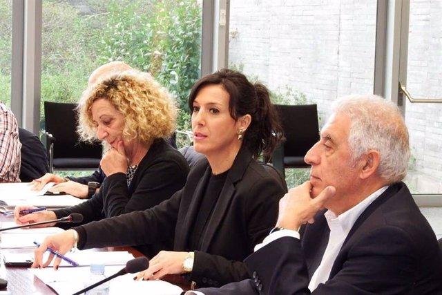 Esther Gutiérrez, en la sectorial de Educación