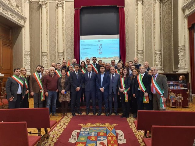 Participantes en el Encuentro de Terra Cruda.