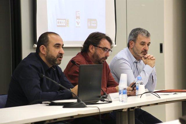 Javier Pacheco, Camil Ros i Jaume Collboni