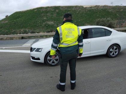 Las carreteras de la provincia de Jaén han registrado 359 accidentes con víctimas en el último año