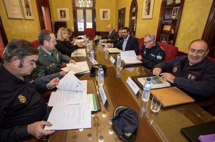 Junta Local de Seguridad en Huelva para establecer el dispositivo especial de cara a las fiestas navideñas
