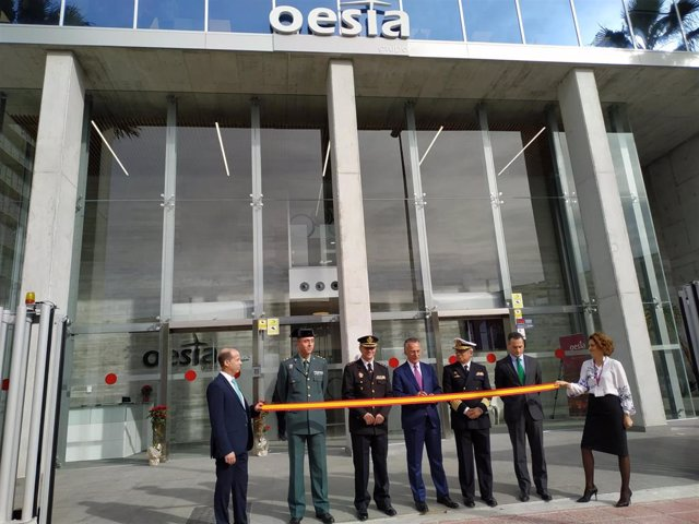 Imagen de la inauguración de la nueva sede de Oesía en Murcia