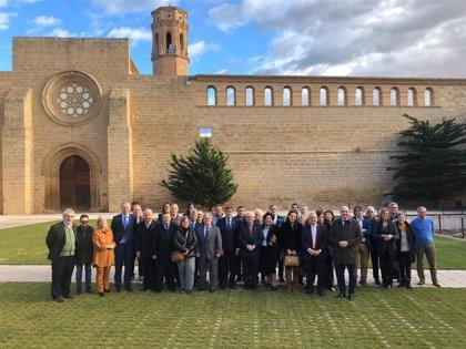 Aliaga elogia el papel de los 20.000 integrantes de las comunidades aragonesas en el exterior