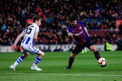 Una Real Sociedad de 'Champions' reta al Barça antes del Clásico