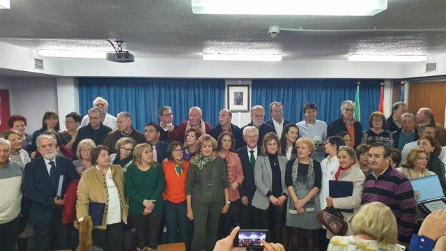 Acto De Homenaje A Jubilados U A Trabajadores Que Cumplen 25 Años En El Hospital De Úbeda (Jaén))