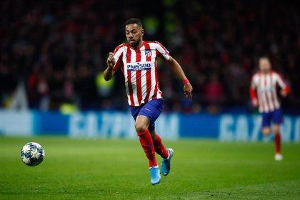 Lodi, por lesión, queda fuera de la convocatoria del Atlético para recibir a Osasuna