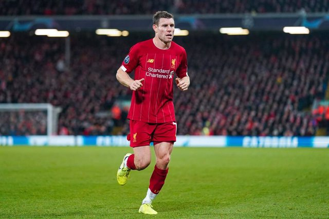James Milner, jugador del Liverpool