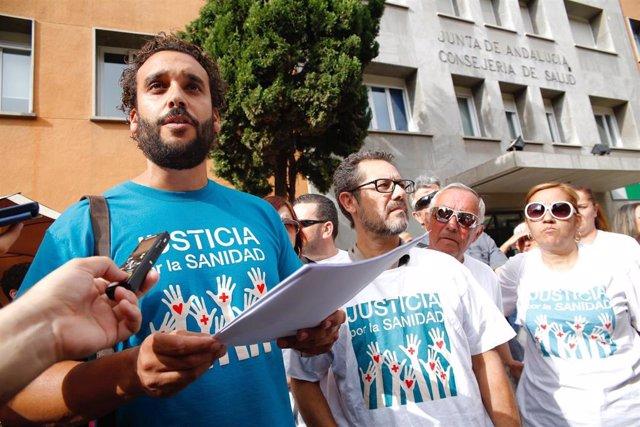 Jesús Candel, Spiriman, presenta queja ante la Delegación de Salud