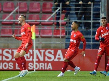 El Numancia reacciona y frena al Girona