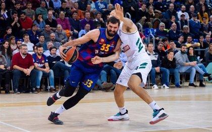 El Barça desarma y frena a un buen Panathinaikos