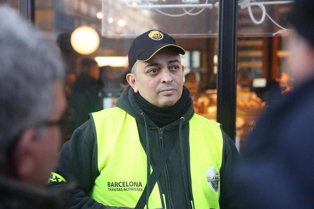 El líder d'Elite Taxi, i cap visible dels acords dels taxistes catalans amb la Generalitat, Alberto 'Tito' Álvarez.
