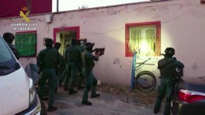 Un total de 29 detenidos en Cádiz, Málaga, Huelva y Ceuta en una operación contra el narcotráfico con 150 agentes
