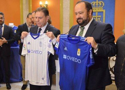 Ayuntamiento y Real Oviedo estrechan relaciones