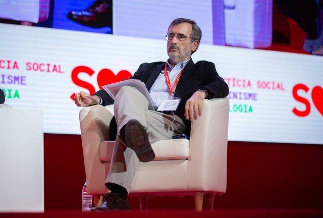 El senador i expresident de la cambra alta Manuel Cruz