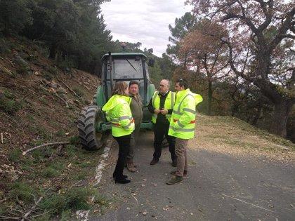 Comienzan las obras de mejora de la seguridad vial en la carretera que atraviesa el Parque Natural de Cazorla, en Jaén