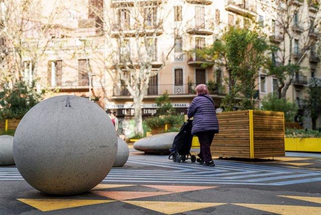 Superilla del barri de Sant Antoni, a Barcelona