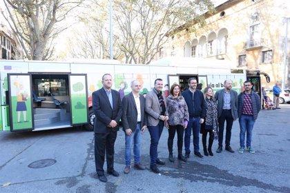 Armengol e Hila presentan a la ciudadanía la nueva flota de buses de la EMT