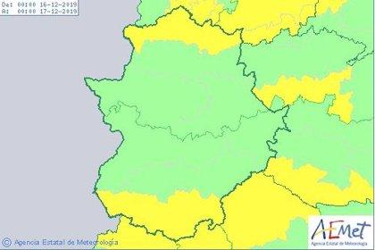 El viento pondrá en riesgo el lunes al sur y al norte de Extremadura, donde también habrá avisos por lluvias