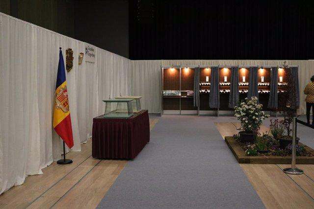 Una de les taules electorals de les eleccions generals andorranes celebrades l'abril passat
