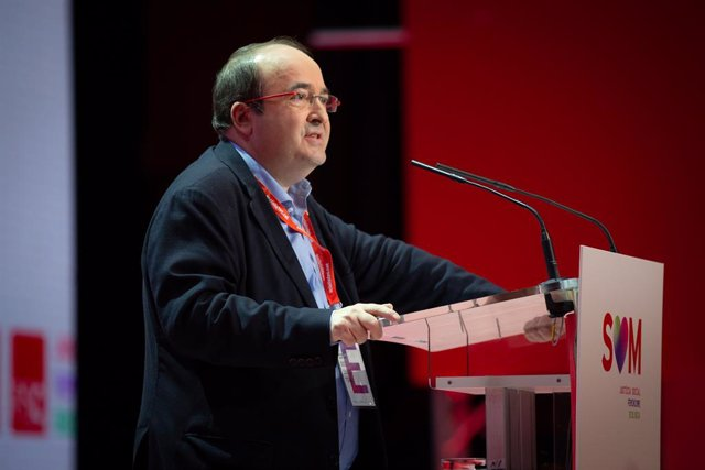 El primer secretari del PSC, Miquel Iceta