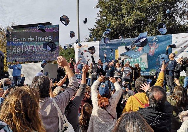 La XIX festa 'Posa't la gorra', celebrada al parc de la Ciutadella de Barcelona