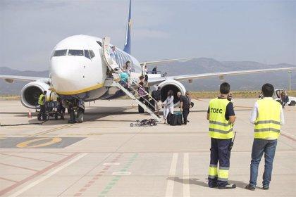 El aeropuerto de Castellón realizará acciones de promoción conjuntas con el de Marsella sobre la nueva ruta