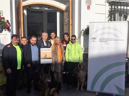 El IAJ inaugura la primera jornada de 'Juventud y Protección animal' de Moclinejo (Málaga)