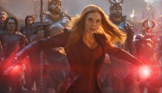 Bruja Escarlata en Vengadores: Endgame