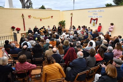 Jerez ha sido protagonista en la zambomba 'Arte y compás por Navidad' de Tomares (Sevilla)
