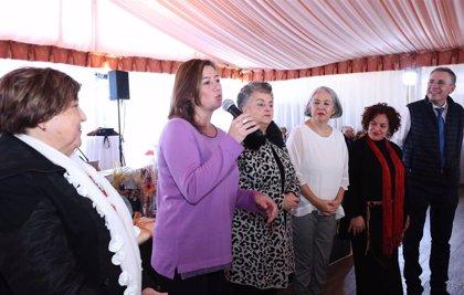 Armengol asiste a la comida de Navidad de la Federación de Personas Mayores de la Part Forana de Mallorca