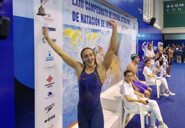 Lidón Muñoz, la gran protagonista del Campeonato de España de Natación