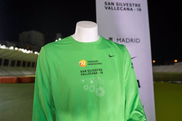 La camiseta de la San Silvestre de este año será verde