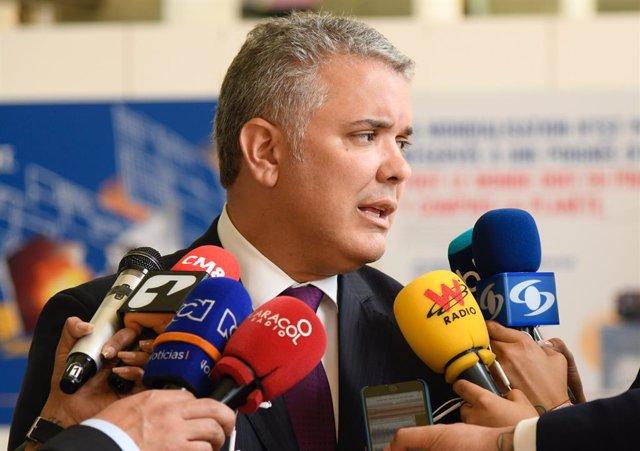 """Colombia.- Duque avisa al ELN de que no habrá diálogo si la guerrilla continúa """""""