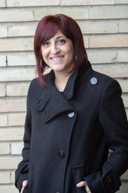 Esther Aldave, autora de la tesis