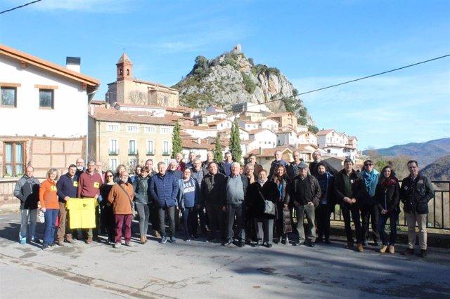 Reunión de la 'España Vaciada' en Nieva de Cameros
