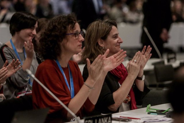 AMP.-COP25- La Cumbre del Clima aprueba un acuerdo que pide aumentar en 2020 la