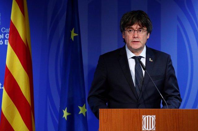 Carles Puigdemont, expresidente de la Generalidad de Cataluña