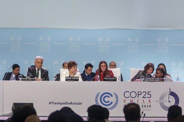 """COP25.- Los países expresan su """"decepción"""" por la falta de acuerdo en el artícul"""