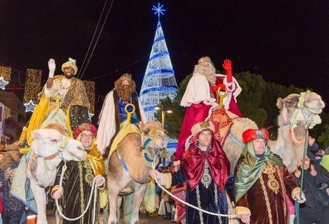 Imagen de la Cabalgata de Reyes en Getafe