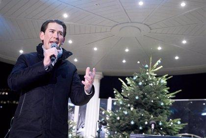 Kurz espera cerrar en enero las conversaciones para formar coalición con los Verdes