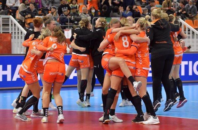 Selecció d'handbol femení d'Holanda