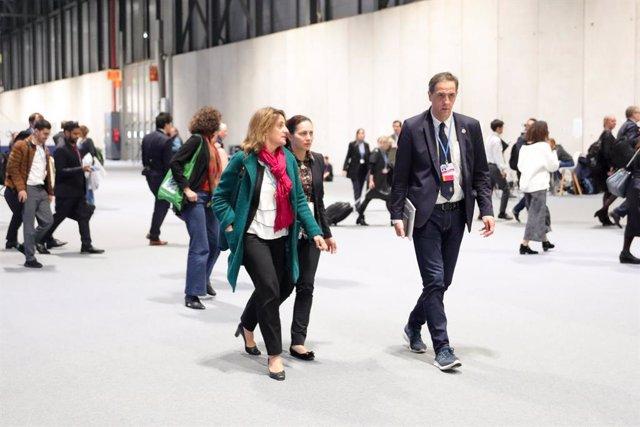 """COP25.- Teresa Ribera admite que el resultado de la Cumbre del Clima """"deja un sa"""